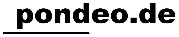 pondeo.de