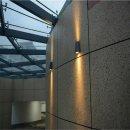 Steinhauer LED Außenwandleuchte Oval Schwarz 2...