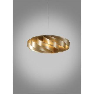 Pendelleuchte Flat I gold Polilux®