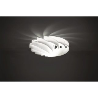 Deckenleuchte Flat II weiß Polilux®
