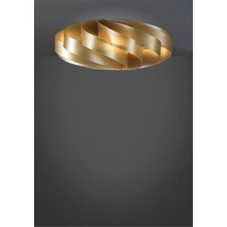 Deckenleuchte Flat II gold Polilux®