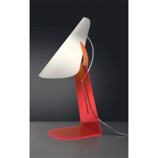 Tischleuchte Calle rot Acryl-Polilux®