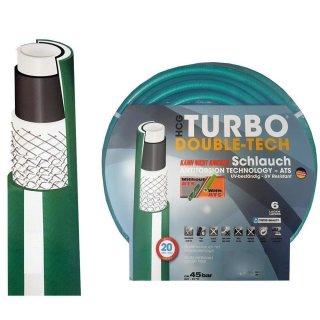 """Premium Wasserschlauch / Gartenschlauch TURBO DOUBLE-TECH ¾"""""""