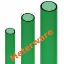 Aquariumschlauch Ø25x33mm Meterware PVC Schlauch grün Luftschlauch phenolfrei
