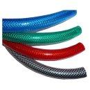 PVC Gewebeschlauch grün Ø9x15mm Meterware Druckluftschlauch