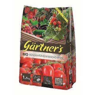 Premium Biodünger für den Naschgarten 1,5 kg