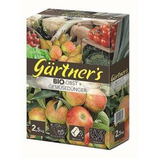 Premium Bio Obst- & Gemüsedünger 2,5 kg
