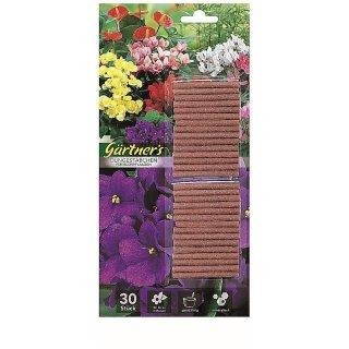 Premium Düngestäbchen für Blühpflanzen 30 Stück