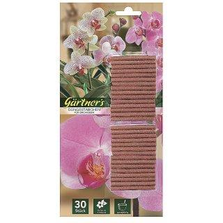 Premium Düngestäbchen für Orchideen 30 Stück