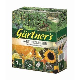 Premium Gartendünger für alle Gartenkulturen 1 kg