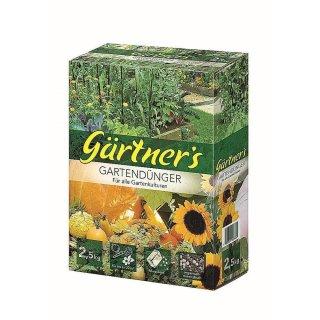 Premium Gartendünger für alle Gartenkulturen 2,5 kg
