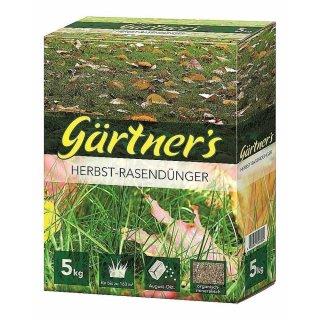 Premium Herbst Rasendünger 5 kg