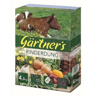 Premium RinderDung gekörnt 4,5 kg