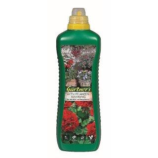 Premium Aktiv-Pflanzennahrung für alle Blüh- und Grünpflanzen 1 l
