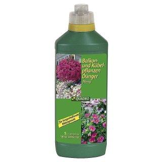 Balkon-u.Kübelpflanzendünger flüssig Oval-Flasche 1l