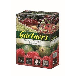 Beeren-Früchte-Dünger 2,5 kg