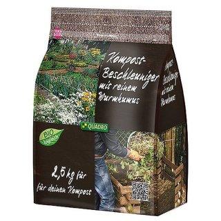 Bio-Kompostbeschleuniger Schnellkomposter 2,5Kg mit Wurmhumus