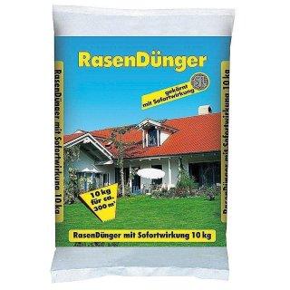 Rasendünger mit Sofortwirkung 10 kg