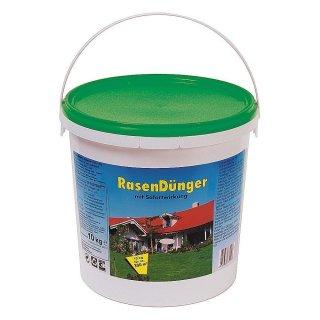 Rasendünger im Eimer mit Sofortwirkung 10 kg