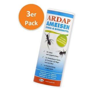 Ardap Ameisen Streu & Gießmittel  500 g, 3er Pack