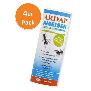 Ardap Ameisen Streu & Gießmittel  500 g, 4er Pack