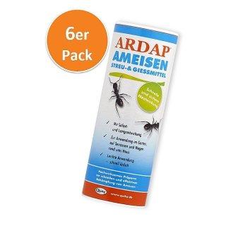 Ardap Ameisen Streu & Gießmittel  500 g, 6er Pack