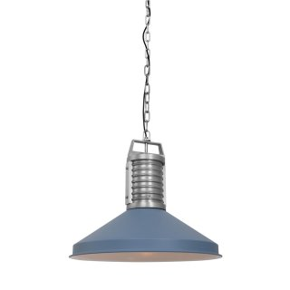 Steinhauer Pendelleuchte Anne-Lighting 8755BL Blau