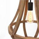Steinhauer Hängeleuchte Liberty Bell 1349BE Beige