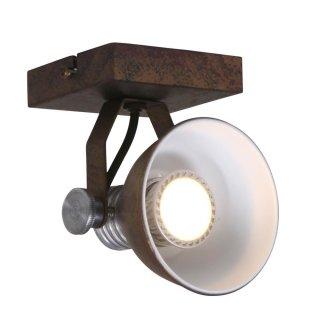 Steinhauer Deckenstrahler Brooklyn LED 1-licht 1533 Braun