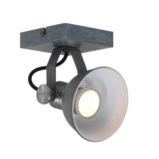 Steinhauer Deckenstrahler Brooklyn LED 1-licht 1533 Grau