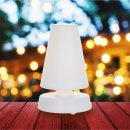 Steinhauer Tischleuchte Anne fängt Licht 2483W Weiß