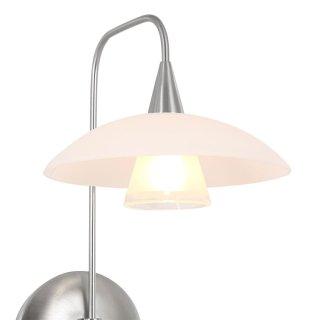 Steinhauer Wandleuchte Tallerken LED 2656ST Stahl