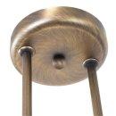 Steinhauer Pendelleuchte Capri 6837BR Bronze