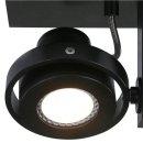 Steinhauer Wandleuchte/Spot LED Quatro 7549ZW Schwarz