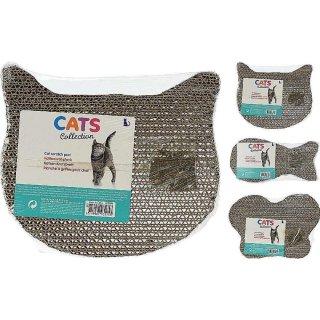 Kratzbrett für Katzen Katze/Fisch/Schmetterling Katzenkratzbrett Kratzer Katzenkratzkarton mit Katzenminze Kratzkarton für Katzen Katzenliege Katzenzubehör