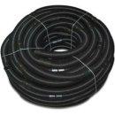 Schwimmbadschlauch Poolschlauch schwarz Ø38mm mit Muffen, Abstand 1,00m Meterware Schwimmbadschlauch Spiralschlauch Pool-Flex